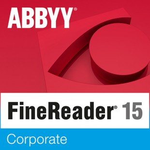 ABBYY FineReader 15 Corporate Продление ESD