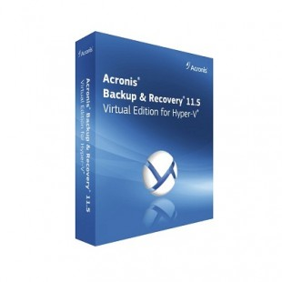 Acronis Backup & Recovery 11.5 Virtual Edition for Hyper-V