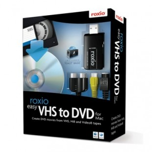 Corel Roxio Easy VHS to DVD for MacOS