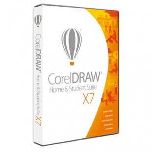 CorelDRAW Home & Student Suite X7 Rus Mini-Box