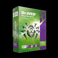 Dr.Web Security Space 1PC 1Y BOX