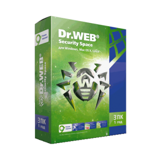 Dr.Web Security Space 3PC 1Y BOX