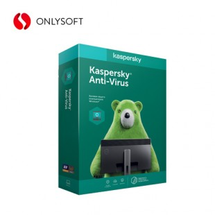 Kaspersky Anti-Virus 2 PC 2 YEAR