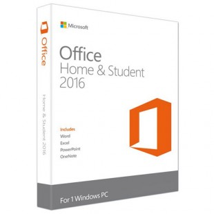 Office для дома и учебы 2016 English Коробочная версия