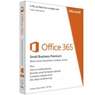 Microsoft Office 365 small business advanced (электронная лицензия)