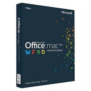 Microsoft Office Mac Home and Business 2011 (электронная лицензия)