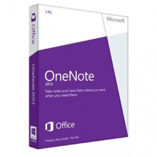 Microsoft OneNote 2013 для дома (электронная лицензия)
