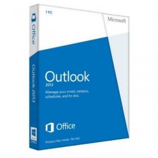 Microsoft Outlook 2013 (электронная лицензия)