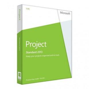 Microsoft Project Standard 2013 (электронная лицензия)