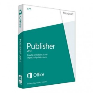 Microsoft Publisher 2013 (электронная лицензия)