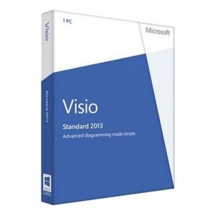 Microsoft Visio Standard 2013 (электронная лицензия)