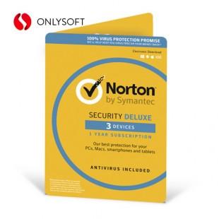 Norton Security Deluxe 3ПК 2ГОДА ESD