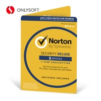Norton Security Deluxe 5ПК 3ГОДА ESD