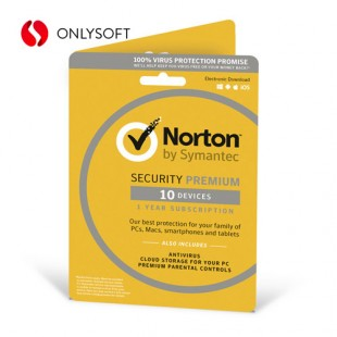Norton Security Premium 10ПК 1ГОД ESD