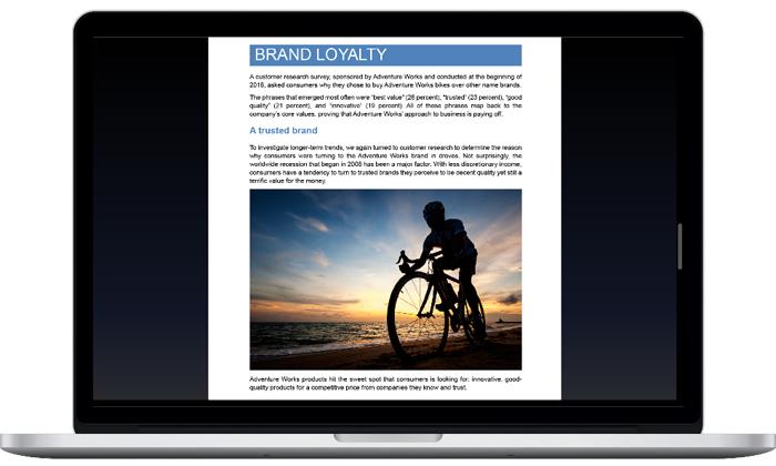Документ открыт в Word 2019 на экране Mac